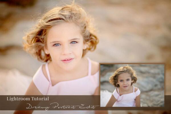 Lightroom tutorial Dreamy portrait edit by Willie Kers